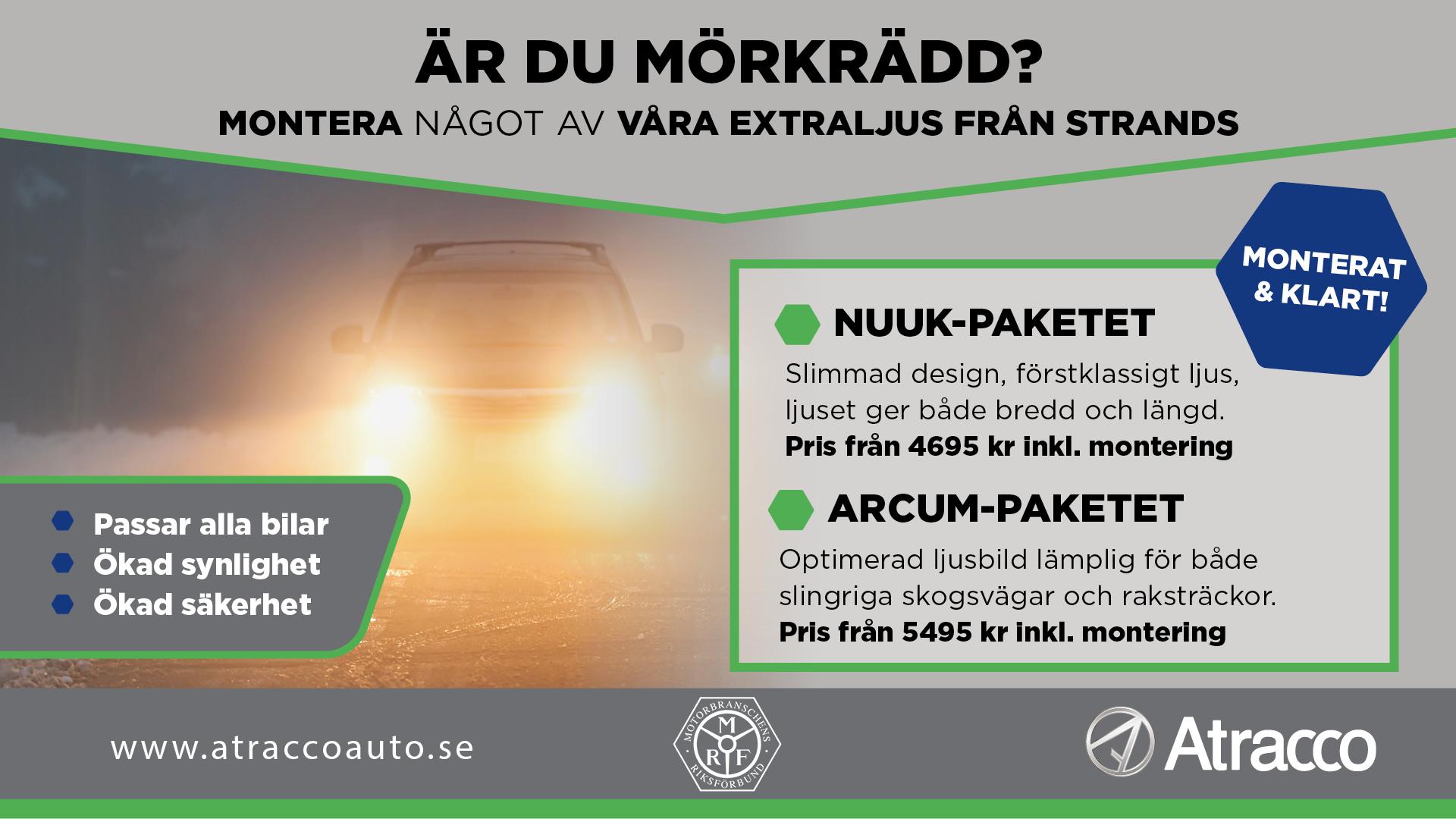 Extra ljus bil - Atracco